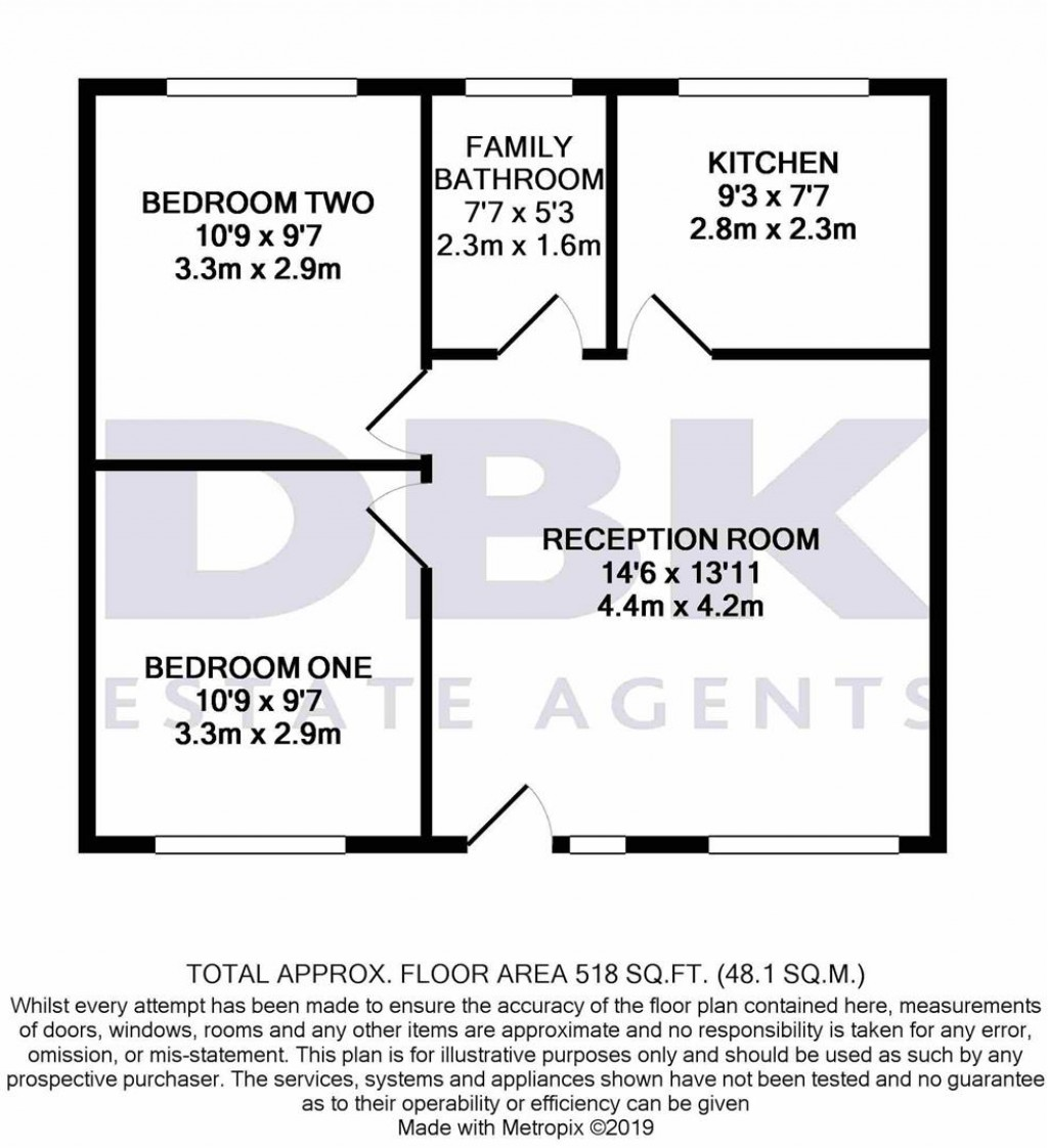 Floorplans For Ash Grove, Heston, TW5