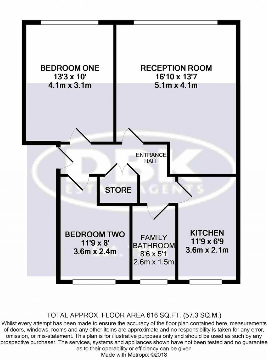 Floorplans For Memorial Close, Heston, TW5