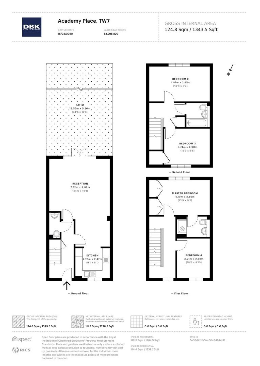 Floorplans For Academy Place, Isleworth, TW7