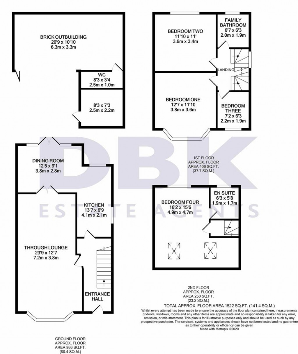 Floorplans For Browning Way, Heston, TW5