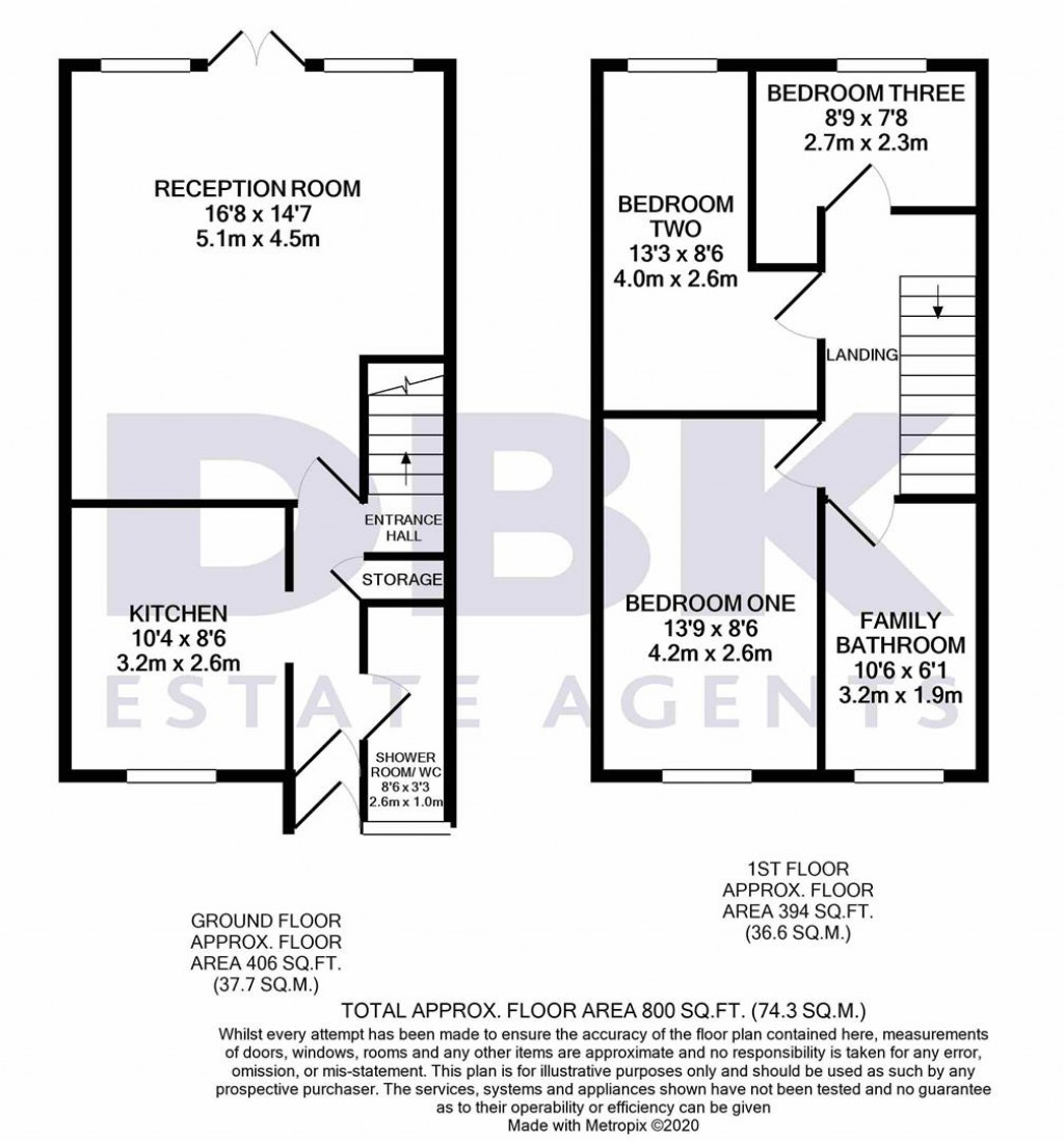 Floorplans For Albion Road, Hayes, UB3