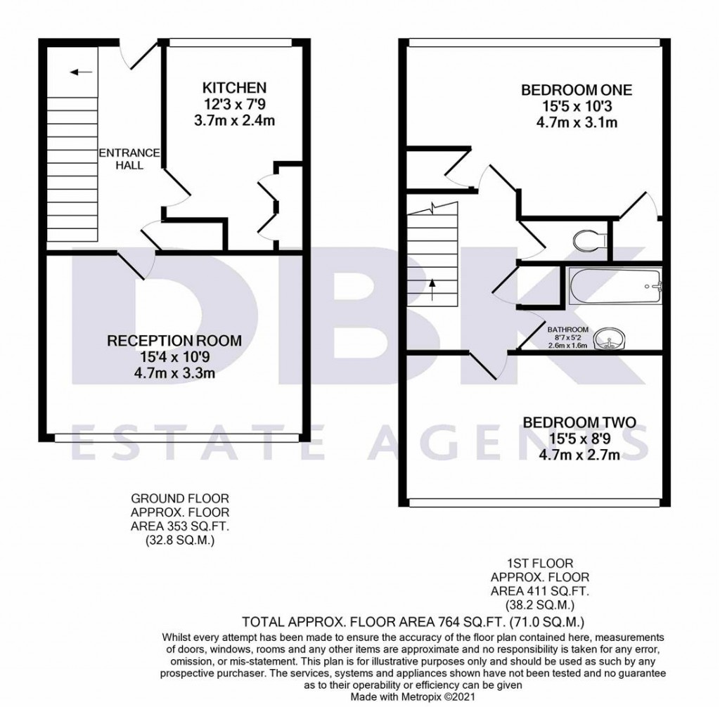 Floorplans For Bostock House, Biscoe Close, Heston, TW5