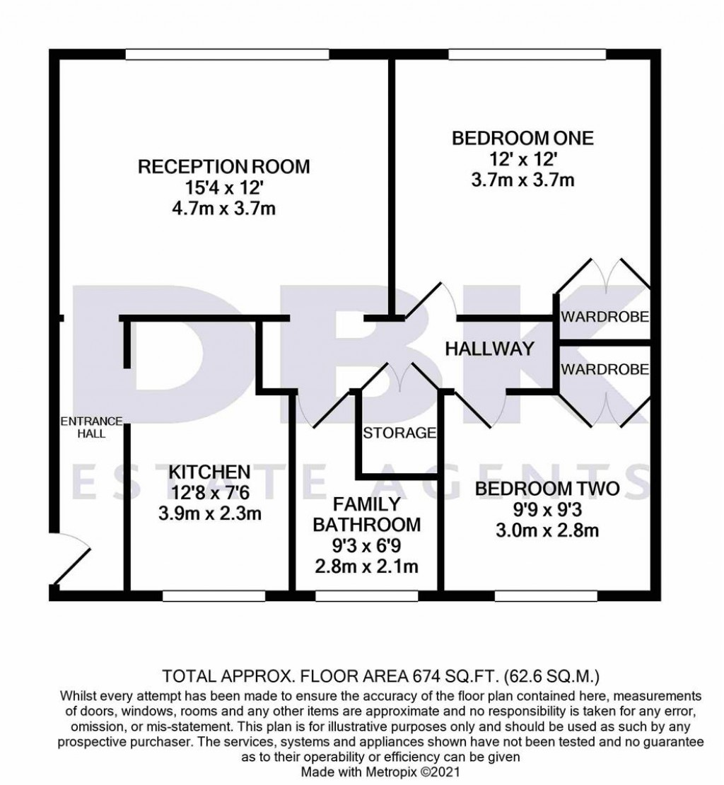Floorplans For Sefton Court, Jersey Road, Hounslow, TW3